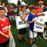 Young Ridgewood Baseball Champs Celebrate Season