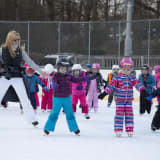 Kindergarteners Learn To Skate At New Canaan Country School