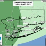 Severe Weather Alert: Strong Thunderstorms With Damaging Wind Gusts Will Sweep Through Area