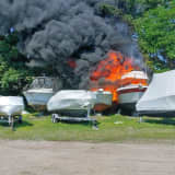 Two Firefighters Injured During Boat Fire At Long Island Marina