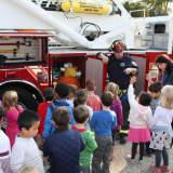 Pleasantville Firefighters Visit School To Teach Safety