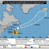 Epsilon Strengthens To Hurricane Status, Will Generate Large Waves That Will Affect East Coast