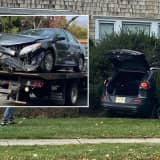 Hackensack Firefighters Free Crash Victims Trapped In Bushes