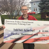 Emerson Police Department Boosts Eagle Scout Project With $12K Check