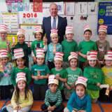 Saddle Brook Mayor Visits Kindergarten Readers