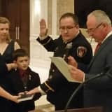 New Saddle Brook Fire Officials Take Office