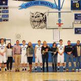 Westlake High Basketball Seniors Honored For Team Contributions