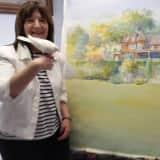 Ridgefield Park Artist Paints Oradell's Blauvelt Mansion