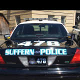 Suffern Police Car Hit By Drunken Driver, Police Say