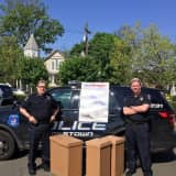 Rockland Residents Turn In Boxes Of Drugs During Take-Back Event