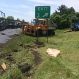 Crews Escape Injury In Near Miss On I-684