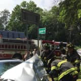 New City Fire Department Reports To Accident Scene