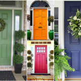 Colorful Front Doors Offer Immediate Curb Appeal