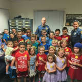 Kids Overrun Westwood Police Headquarters With Cookies, Cards