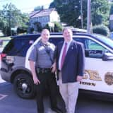 Rep. Bolinsky Gets Up-Close Look At Work Of Newtown Police