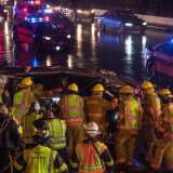 Driver Survives Horrific Crash On Rainy Route 4 In Paramus