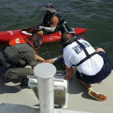 Greenwich Police Rescue Kayaker Near Red Rock In Long Island Sound