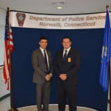 Norwalk Police Department Celebrates Two Promotions