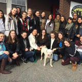Sleepy Hollow High's 'PAW' Club Visits Humane Society, Animal Shelter