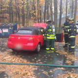 Somers FD Extinguishes Vehicle Fire