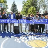 Basketball Court Dedicated To Irvington Resident Who Died On Sept. 11