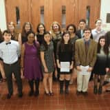 Pelham Students Inducted Into Tri-M Music Honor Society