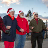 Sleepy Hollow Lighthouse Lights Up For The Holidays