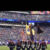 Don't Miss New Milford Honor Guard Presenting Colors During Giants Game