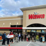 New 24-Hour Morris County Wawa Holds Grand Opening
