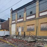 Partial Building Collapse Closes North New Street In Allentown