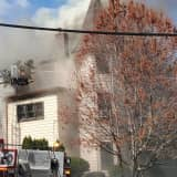 Flames Blow Through Roof Of Passaic Home