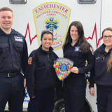 Westchester First Responders Participate In Autism Patch Challenge