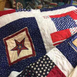 Quilting Patriotic Pride: Veterans Honored At Norwalk Store