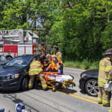 Driver Extricated, Hospitalized In Phoenixville Crash