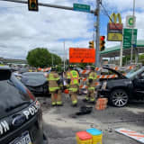 1 Driver Extricated In Multi-Car Crash At Norristown Intersection