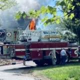 Firefighters Douse Wyckoff House Blaze
