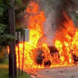 Paramus Passersby Rescue Victims After SUVs Collide Head On, Burst Into Flames