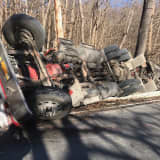Tractor-Trailer With Thousands Of Gallons Of Fuel Overturns In Northern Westchester