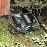 Photos: Rollover Crash Causes Baldwin Place Road Closure In Mahopac