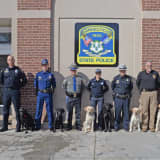 State Police Offers Specialized Training For K9 Units From Across Country