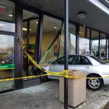 Car Plowing Into Rockland Bank Tops Week's News