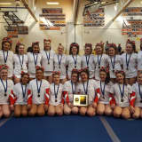 Varsity Cheerleaders Advance To States During Sectionals In White Plains