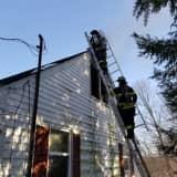 Two-Alarm House Fire Breaks Out In Danbury