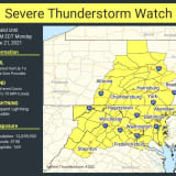 NWS Issues Severe Thunderstorm Watch In Pennsylvania
