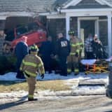 Three Injured After Pickup Truck Crashes Into Long Island Home