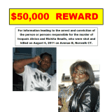 $50K Reward Offered On Anniversary Of Killing Woman, Man In Fairfield County