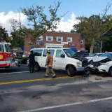Two Suffer Injuries In Route 59 Crash In Rockland