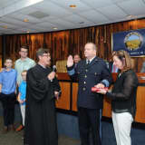 New Chief In Town: McCullagh Sworn In As Clarkstown's Top Cop