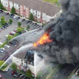 Carteret Fire: Relentless Blaze Collapses Apartment Building, 75 People Displaced
