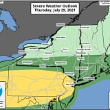 Strong Storms With Gusty Winds, Possible Hail, Isolated Tornadoes Will Sweep Through Region